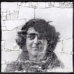 Monstre 8, portrait anonyme en mosaïque par Clément Mitéran