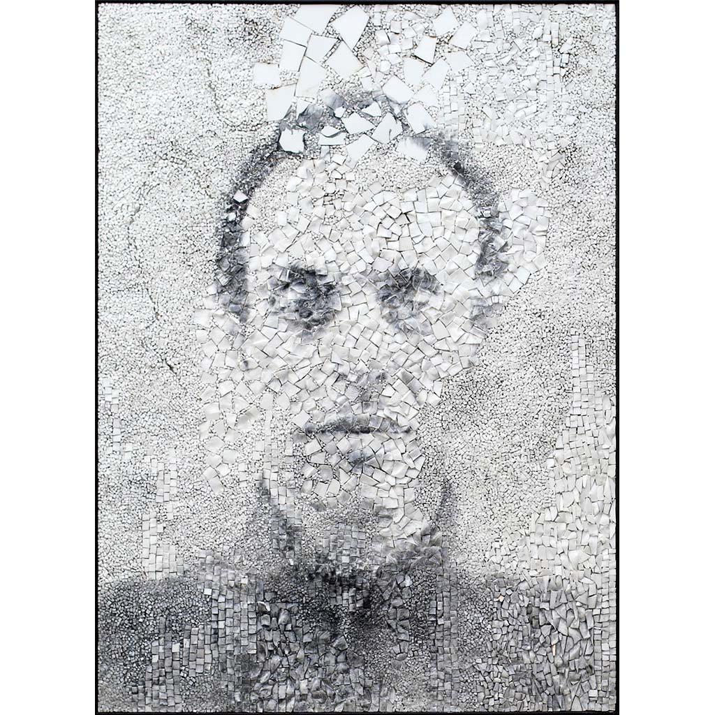 Giornate 1, portrait photographique sur mosaïque