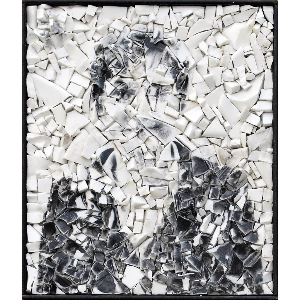 Scarti 2 - 30 x 25 cm - smalte blanc, photographie argentique