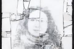 Monstre 5, photomontage par Clément Mitéran, photographie argentique sur mosaïque
