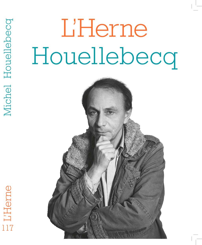 Couverture des Cahiers de l'Herne sur Michel Houellebecq