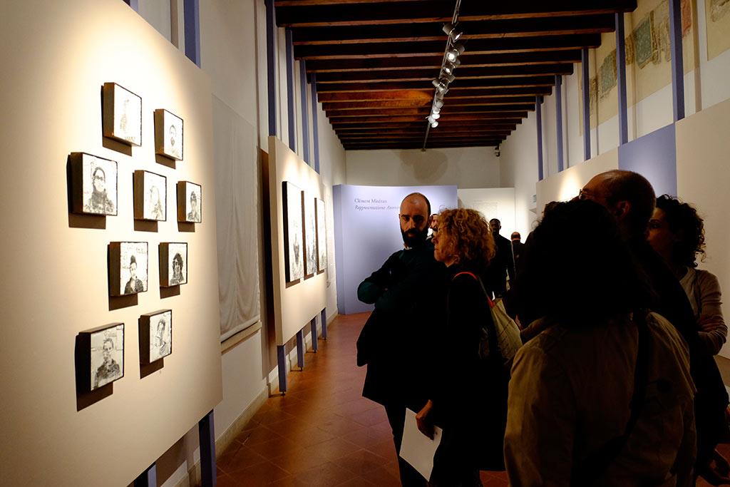 Rappresentazione anonima, l'exposition de Clément Mitéran à Ravenne