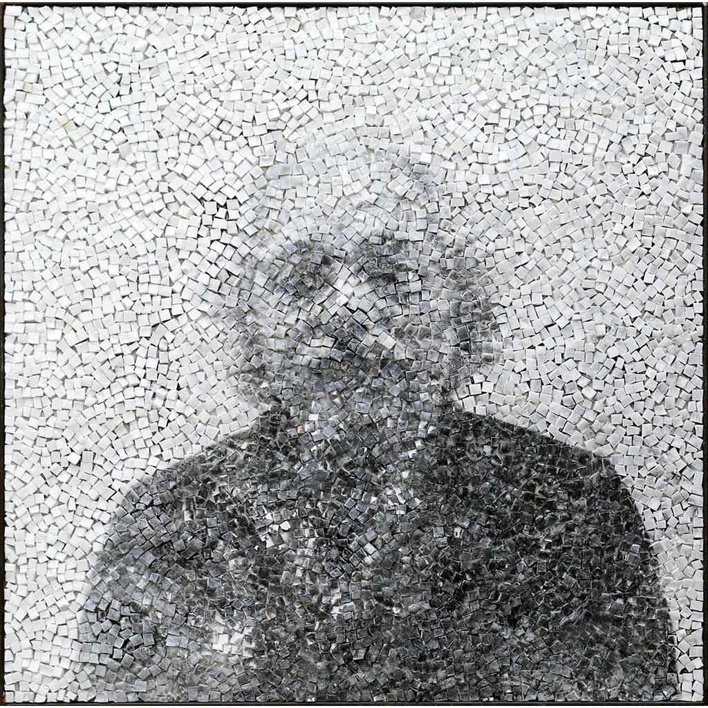 Oeuvre d'art contemporain de Clément mitéran au musée national de Ravenne